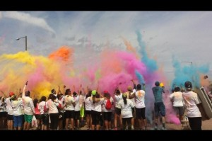 Color explosion photo